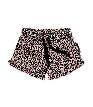 Your wishes Leopard Ruffle shorts