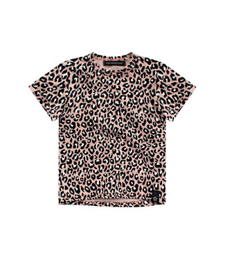Your wishes Leopard pink t-shirt