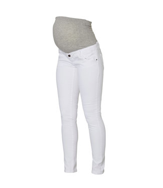 Mamalicious MLSIGGA slim jeans white