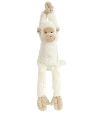 Happy Horse Musical monkey white