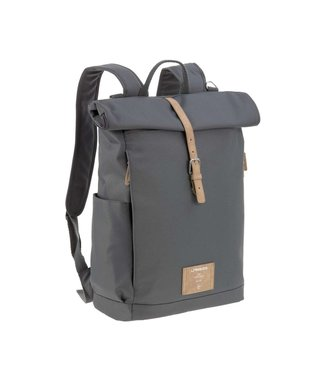 Lassig Rolltop backpack antraciet