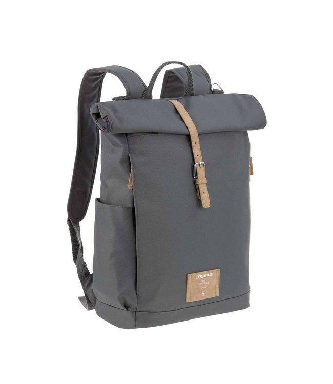 Lassig Rolltop backpack antraciet