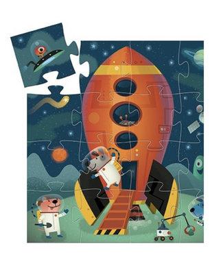 Djeco Puzzel spaceship