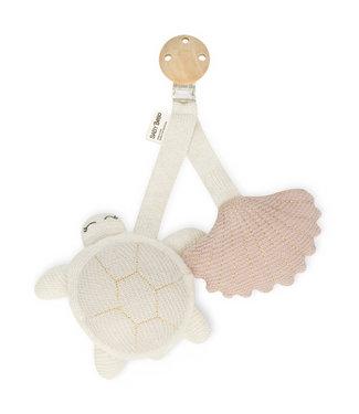 Baby Bello Wagenspeeltje turtle roze
