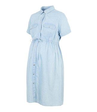 Mama licious MLXANDRA lia woven dress light blue