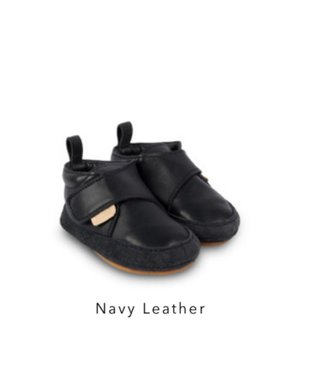 Boumy AKI Navy Leather