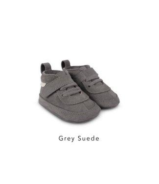 Boumy Duc Grey Suede