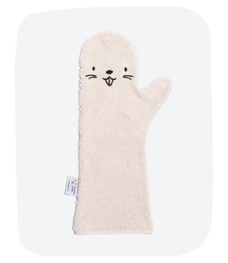 Baby shower glove Baby shower glove Pink beaver nieuw