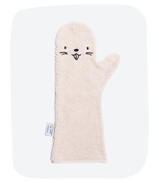 Baby shower glove Baby shower glove Pink beaver