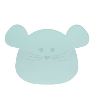 Lassig Placemat Silicone little chums mouse