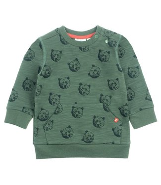 Feetje Sweater AOP - Bear Hugs