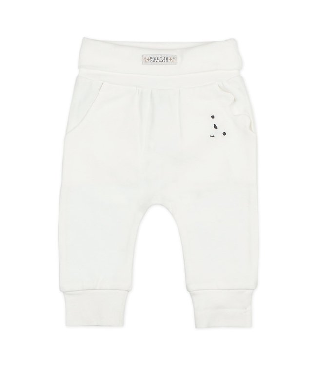 Feetje Broek - Happy Off white