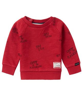 Noppies Baby B Sweater LS Springs AOP