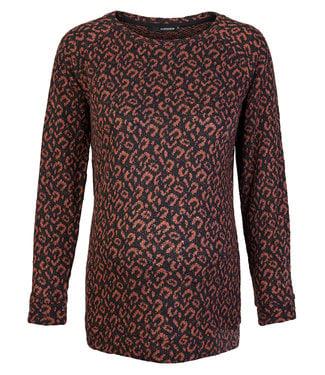 Supermom Sweater ls Leopard