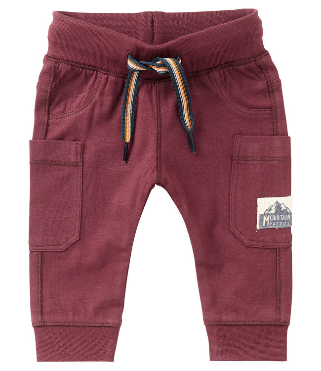 Noppies Baby B Slim fit Pants Venterstad Dusty red