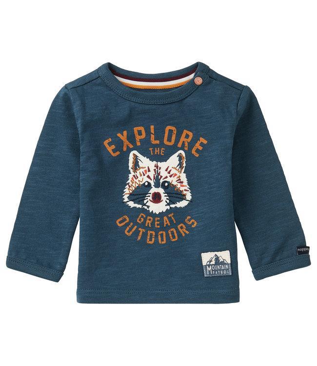 Noppies Baby B T-Shirt LS Koffiebaai
