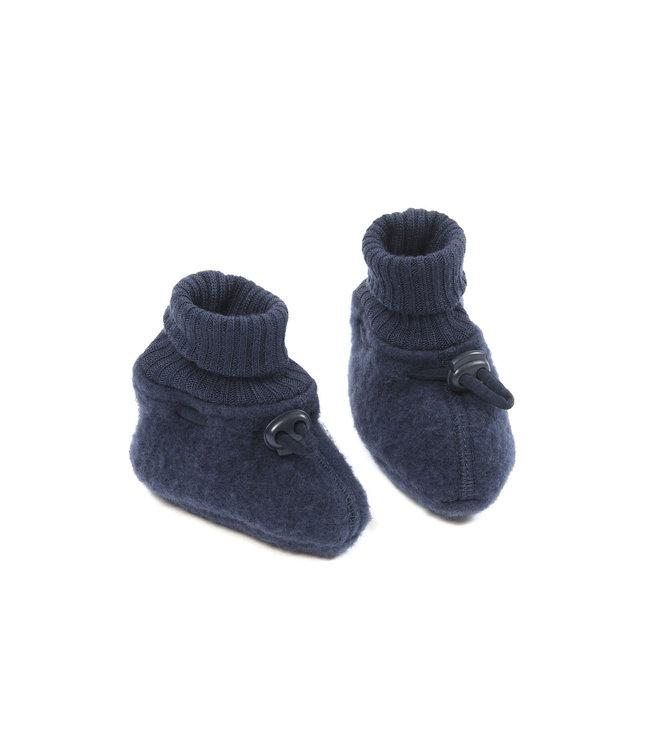 Smallstuff Booties merino wool Navy