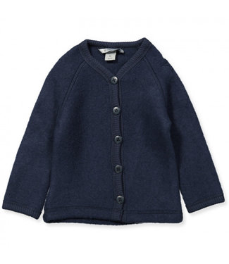 Smallstuff Cardigan merino wool Navy