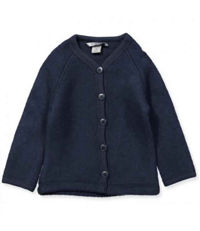 Smallstuff Cardigan merino wool Navy