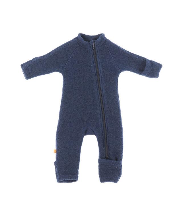 Smallstuff Jumpsuit merino wool Navy