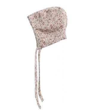 Wheat Rib cap wool Flowers