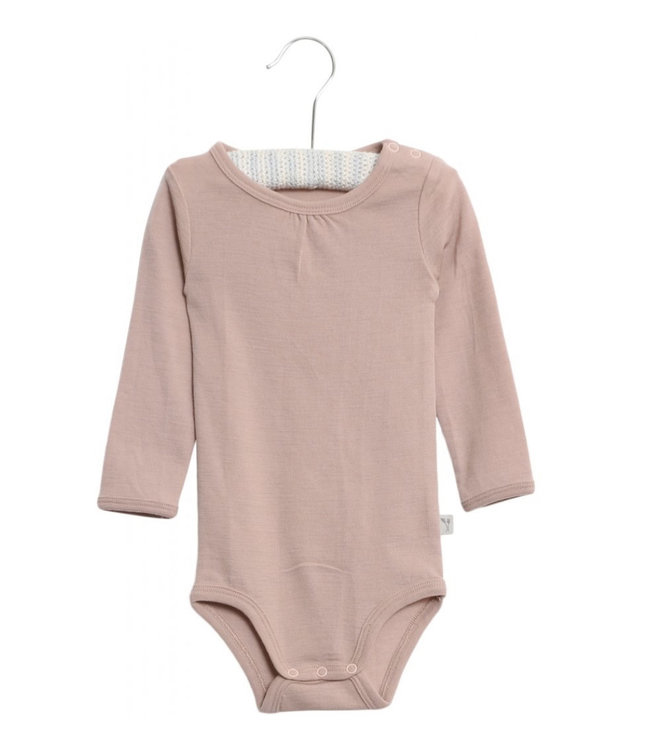 Wheat Romper wol rose powder