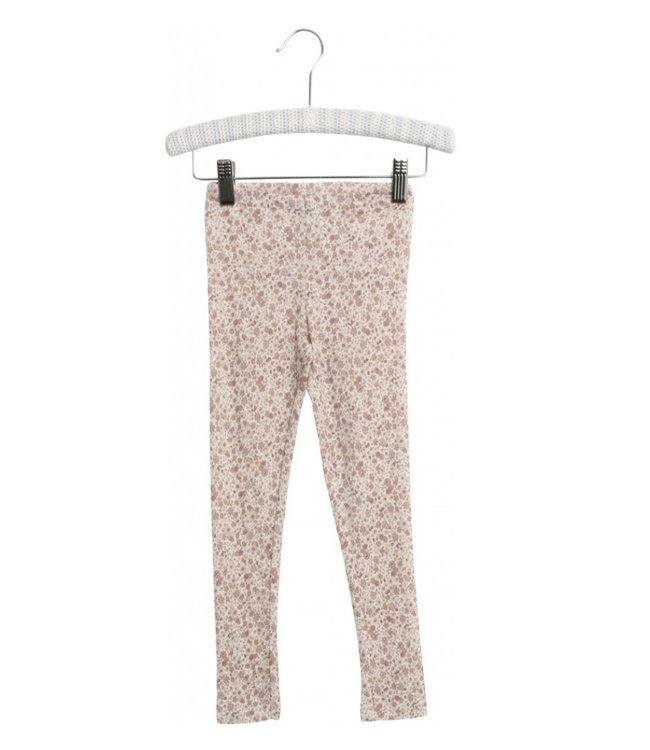 Wheat Wool leggings Flowers