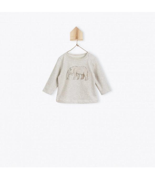 Arsene et les Pipelettes T-shirt mama bear beige