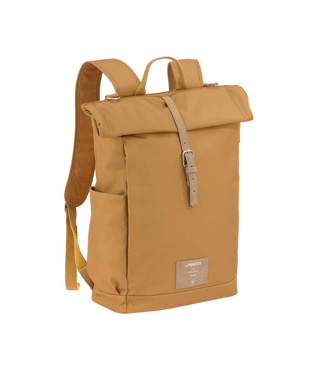 Lassig Rolltop Backpack Curry
