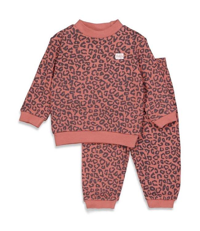 Feetje Feetje Pyjama kind Leopard Fashion Edition Pink