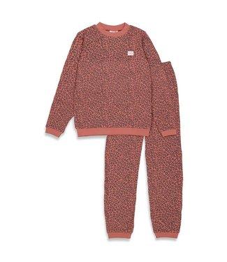 Feetje Feetje pyjama Volwassenen Leopard Fashion edition Pink