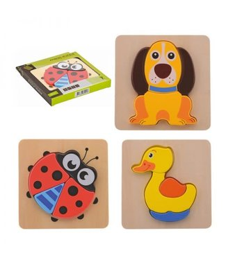 Joueco Animal puzzel