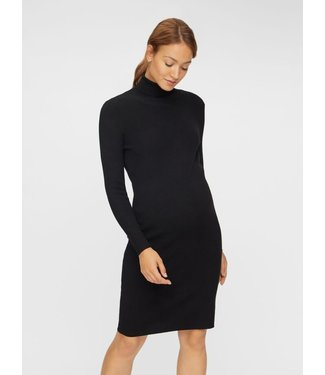 Mamalicious MLJACINA Rollneck Dress black