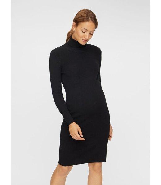 MLJACINA Rollneck Dress black