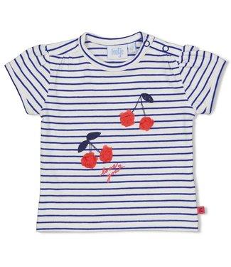 Feetje T-shirt streep - Cherry Sweetness