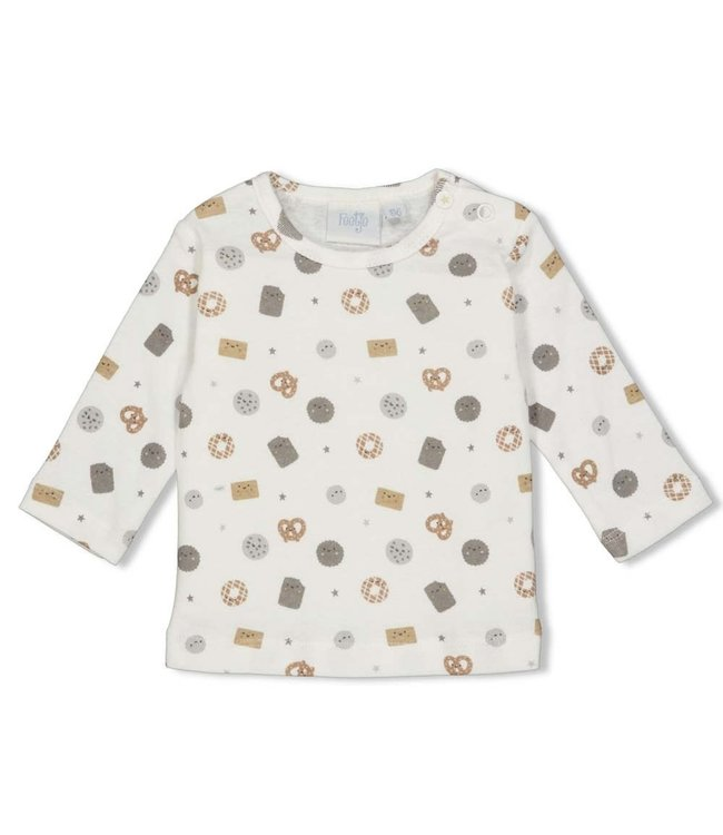 Feetje Longsleeve AOP - Mini Cookie