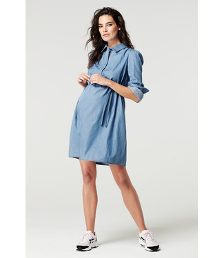 Supermom Dress ls Blue