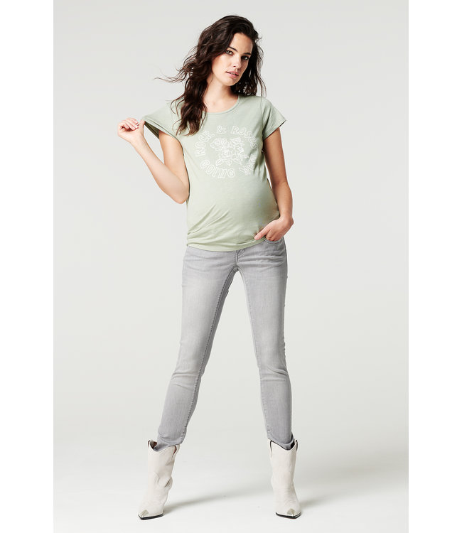 Supermom Jeans OTB Skinny Grey