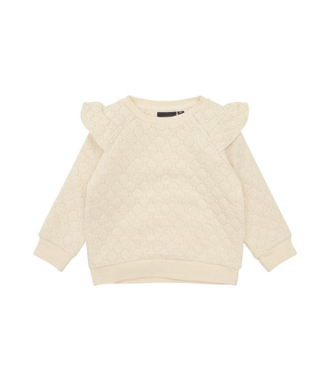 SOFIE  SCHNOOR Sweater met goud detail