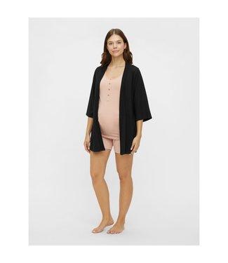 Mamalicious MLVILKA jersey kimono zwart