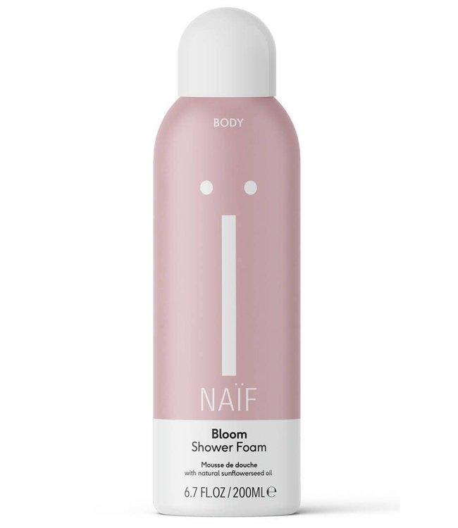 Naïf Bloom shower foam