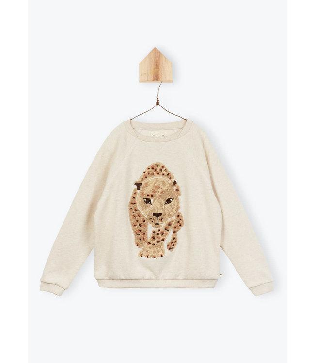 Arsene et les Pipelettes sweater leopard