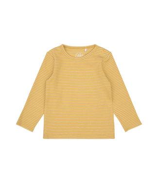 SOFIE  SCHNOOR Longsleeve geel/goud streepje