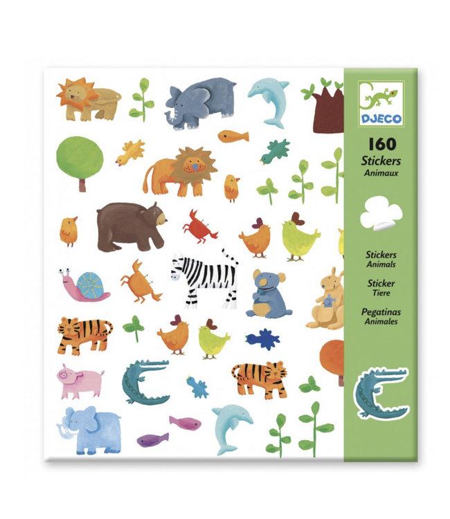 Djeco Dieren stickers