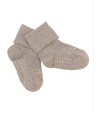 GObabyGO Bamboo non slip socks sand