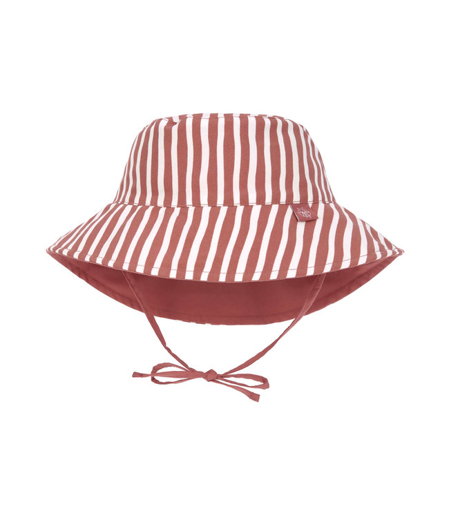 Lassig Sun protection Bucket Hat Stripes Red