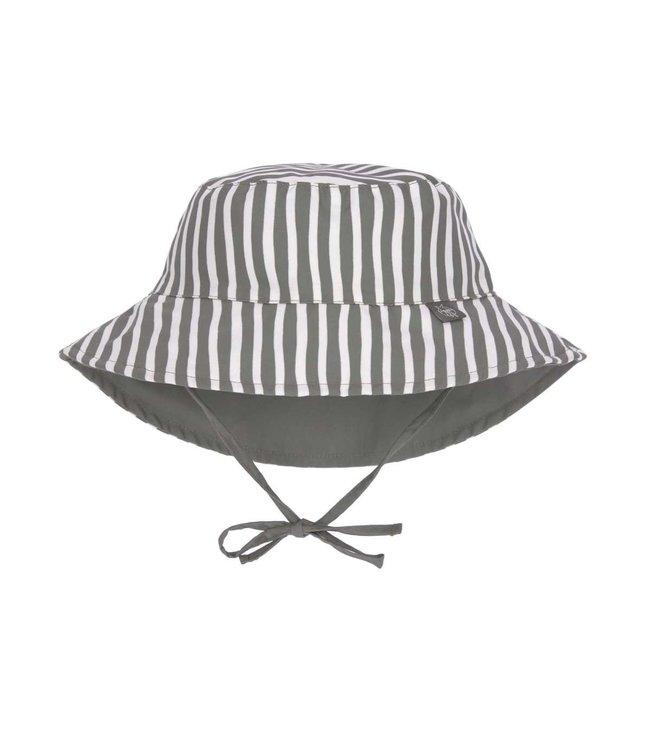 Lassig Sun Protection Bucket Hat Stripes Olive
