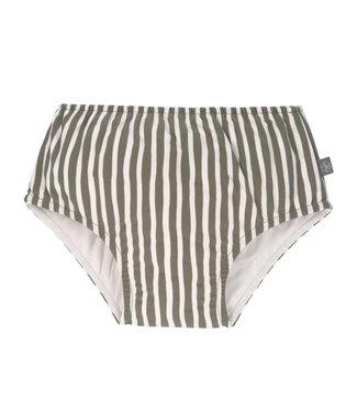 Lassig Swim Diaper stripes olive