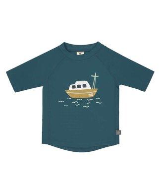 Lassig Shortsleeve Rashguard Boat Blue