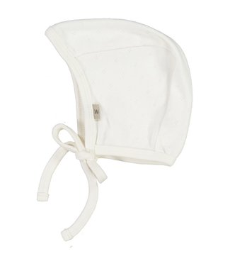 Wheat Baby Bonnet Ebba Ivory